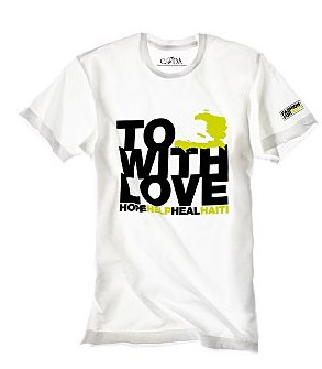 To Haiti with Love T-Shirt