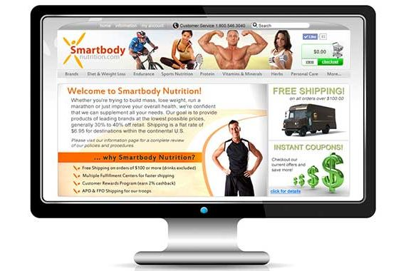 Smart Body Nutrition E-commerce Website