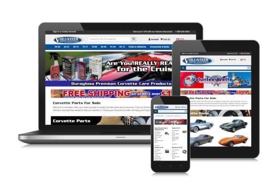 Volvette Ecommerce Website