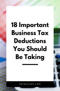 business tax deductions