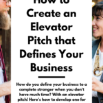 How to Create an Elevator Pitch that Defines Your Business